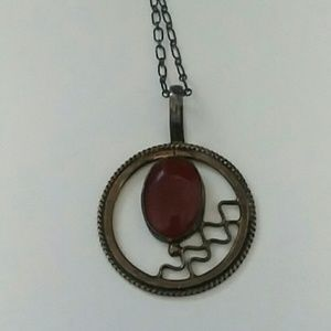 Authentic Sterling Silver Pendant Necklace